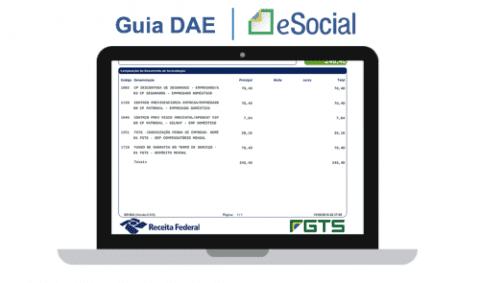Guia DAE eSocial
