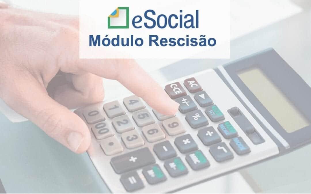 eSocial Doméstico módulo de rescisão: atualização