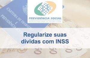 dívidas com o INSS