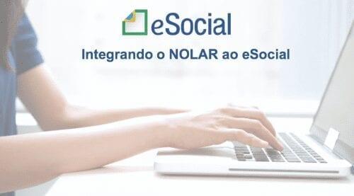 integrar o NOLAR ao eSocial