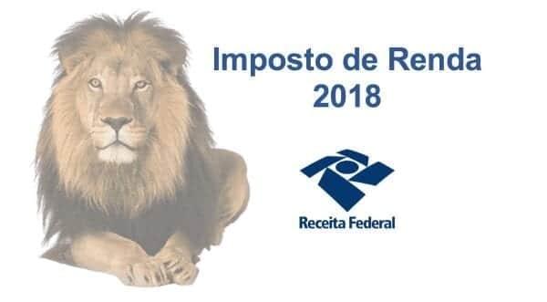 Declaração de IRPF 2018