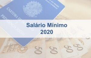 Salário Mínimo Nacional 2020