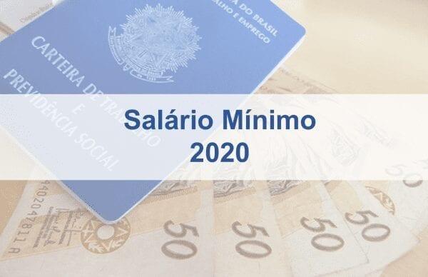 Como proceder com o novo Salário Mínimo Nacional 2020