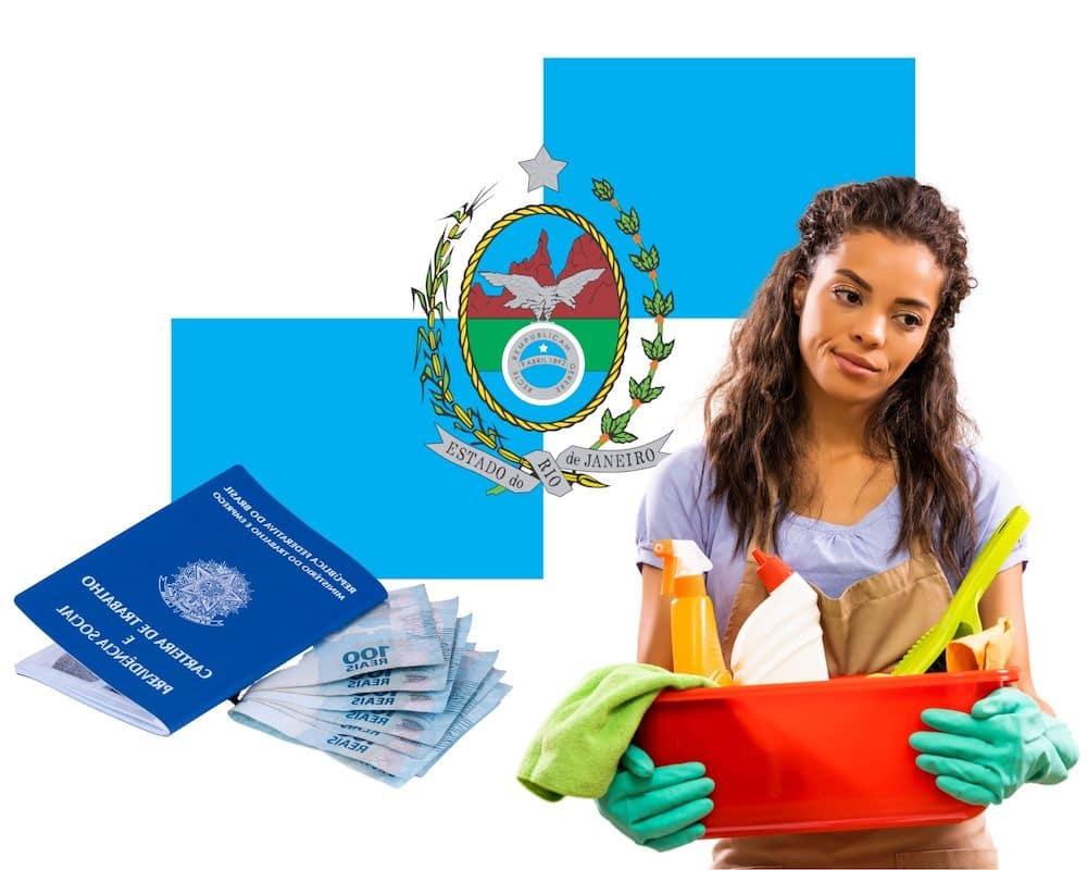 salario domestica rj