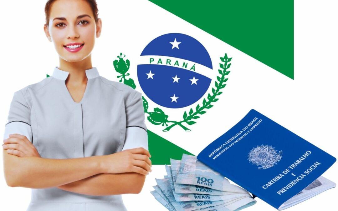 Salário de doméstica no Paraná em 2021